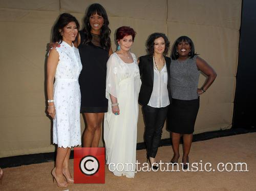 Julie Chen, Aisha Tyler, Sharon Osbourne, Sara Gilbert and Sheryl Underwood 5