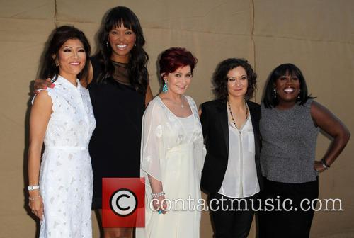 Julie Chen, Aisha Tyler, Sharon Osbourne, Sara Gilbert and Sheryl Underwood 1