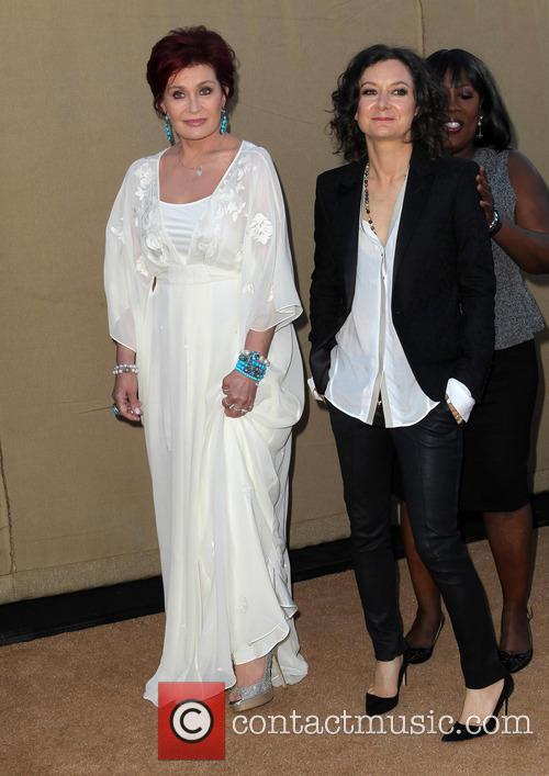 Sharon Osbourne and Sara Gilbert 8