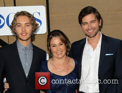 Toby Regbo, Megan Follows and Torrance Coombs 3