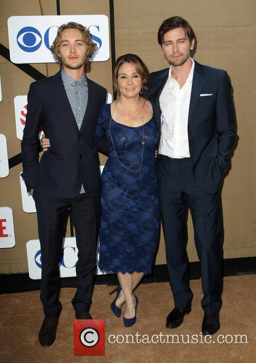 Toby Regbo, Megan Follows and Torrance Coombs 5