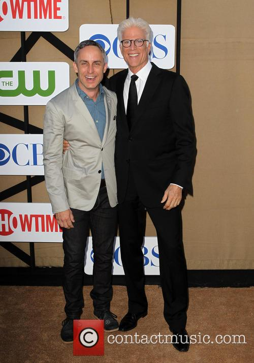 Wallace Langham and Ted Danson 2