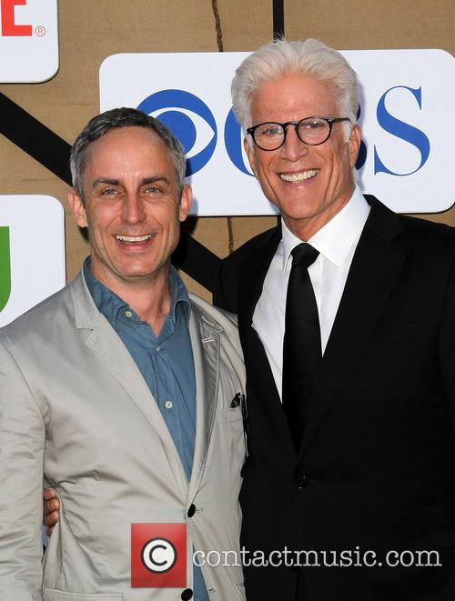 Wallace Langham and Ted Danson 1