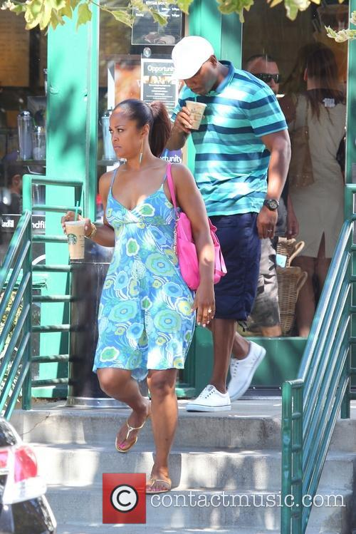Laila Ali and Curtis Conway 10
