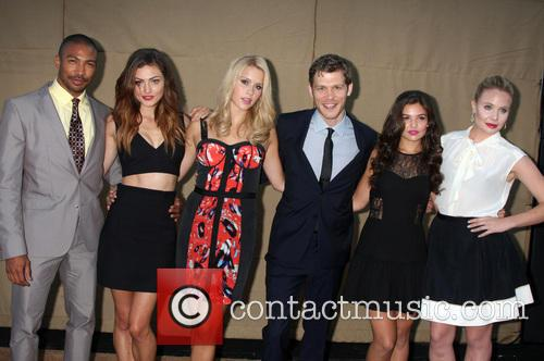 The Vampire Diaries Cast, CW Upfront Party
