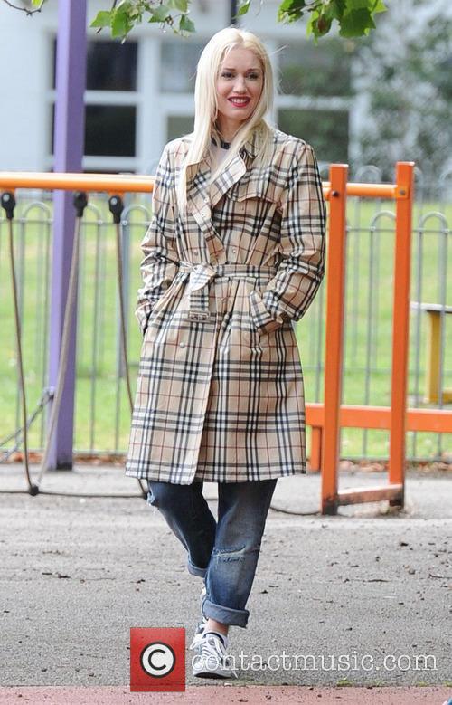 Gwen Stefani,Gavin Rossdale take Kingston and Zuma to the park