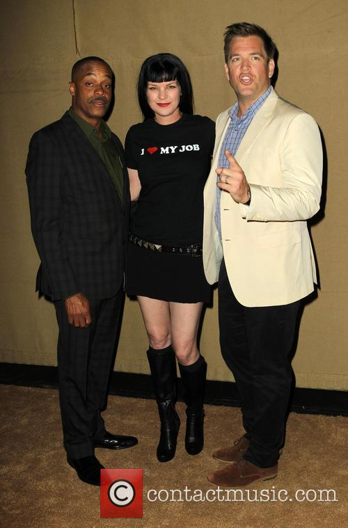 Rocky Carroll, Pauley Perrette and Michael Weatherly 1