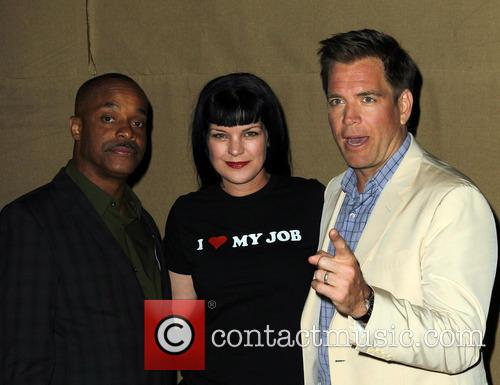 Rocky Carroll, Pauley Perrette and Michael Weatherly 2