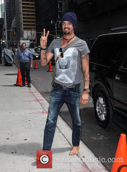 michael franti celebrities outside the letterman show 3789878