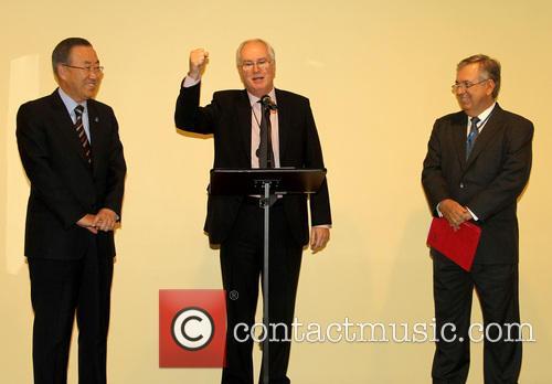 Ban Ki Moon, Sir Mark Lyall Grant and Luiz Alberto Figueiredo Machado 1