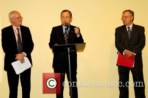 Sir Mark Lyall Grant, Ban Ki Moon and Luiz Alberto Figueiredo Machado 5