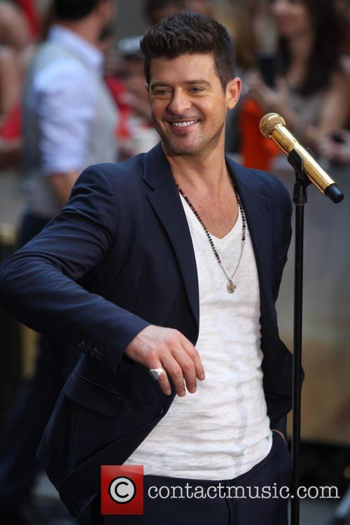 Robin Thicke, Rockefeller Center