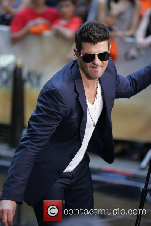 Robin Thicke Today