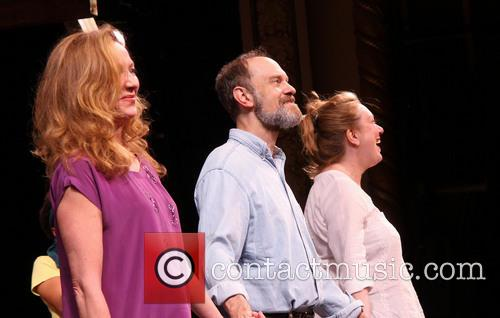 Curtian call for Julie White's first performance in...