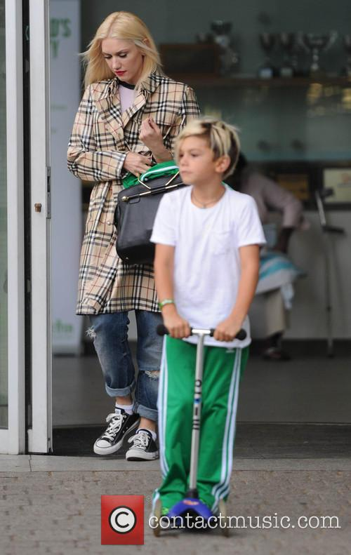 Gwen Stefani,Gavin Rossdale take Kingston and Zuma to...