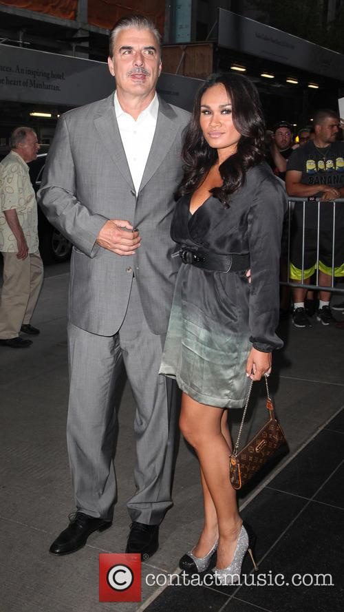 Chris Noth and Tara Wilson 5