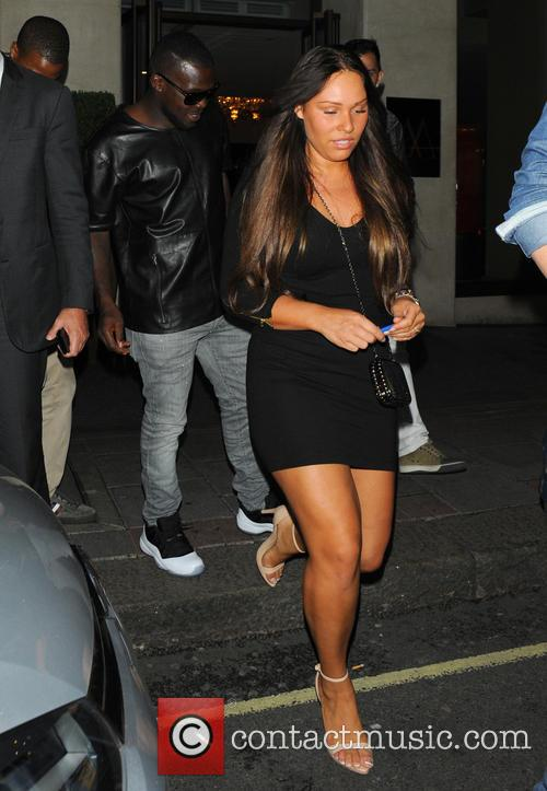 Royston Drenthe and new girlfriend go out