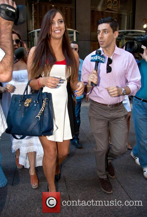 Sydney Leathers leaves the SiriusXM studios