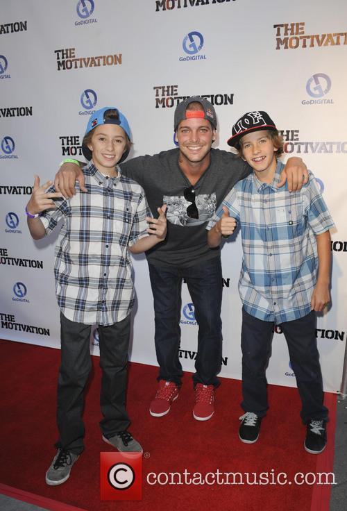 Jagger Eaton, Ryan Sheckler and Guest