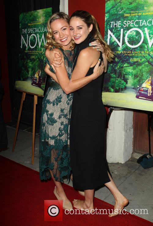 Brie Larson and Shailene Woodley 11