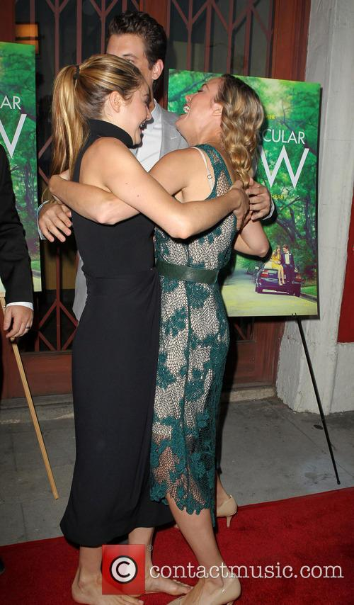 Shailene Woodley, Brie Larson, the Vista Theatre