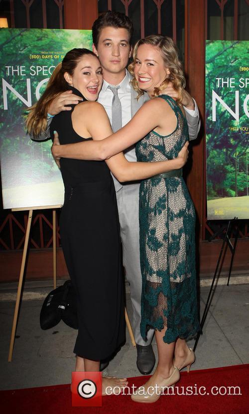 Shailene Woodley, Miles Teller, Brie Larson, the Vista Theatre