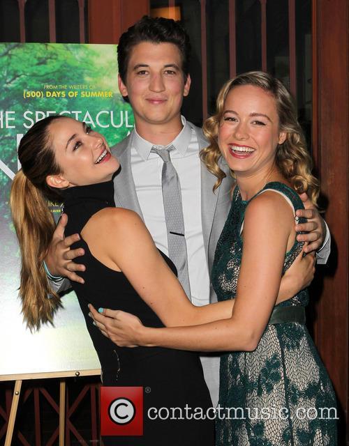 Shailene Woodley, Miles Teller and Brie Larson 1