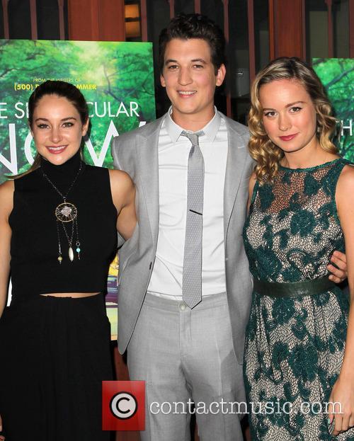 Shailene Woodley, Miles Teller and Brie Larson 6