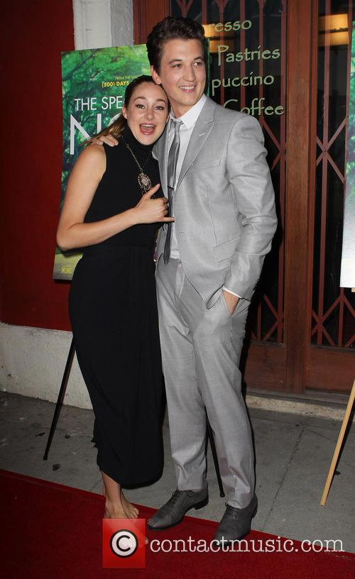 Shailene Woodley and Miles Teller 4