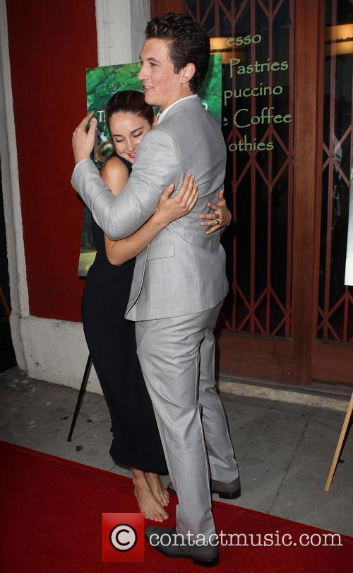 Shailene Woodley and Miles Teller 1