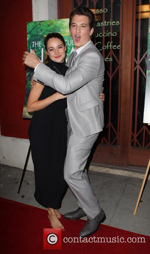 Shailene Woodley and Miles Teller 7