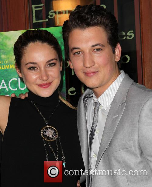 Shailene Woodley and Miles Teller 8