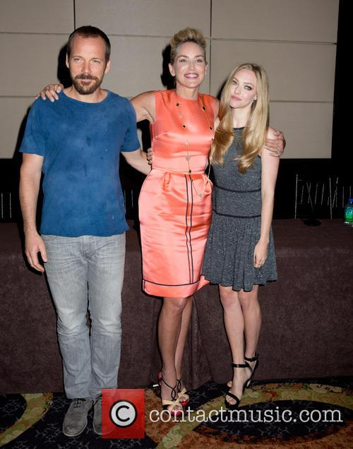Peter Sarsgaard, Sharon Stone and Amanda Seyfried 2