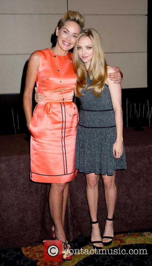 Sharon Stone and Amanda Seyfried 6