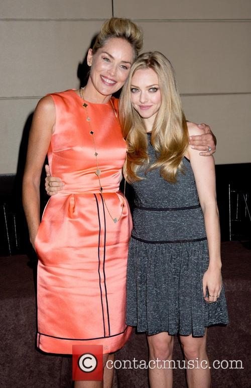 Sharon Stone and Amanda Seyfried 1