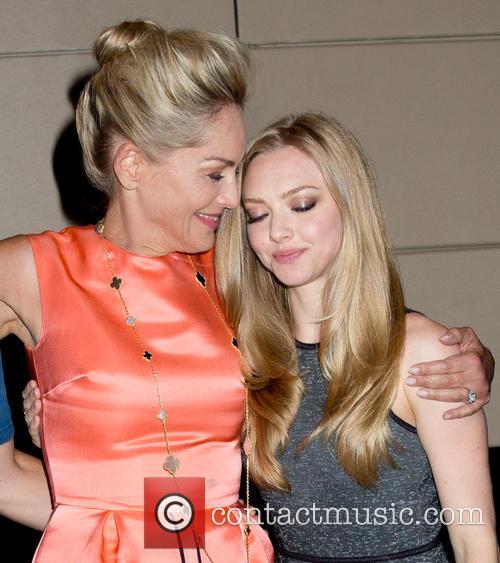 Sharon Stone and Amanda Seyfried 12