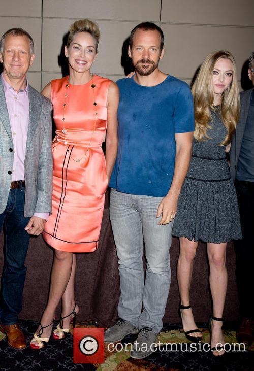 Sharon Stone, Peter Sarsgaard, Amanda Seyfried, Mandarin Oriental Hotel