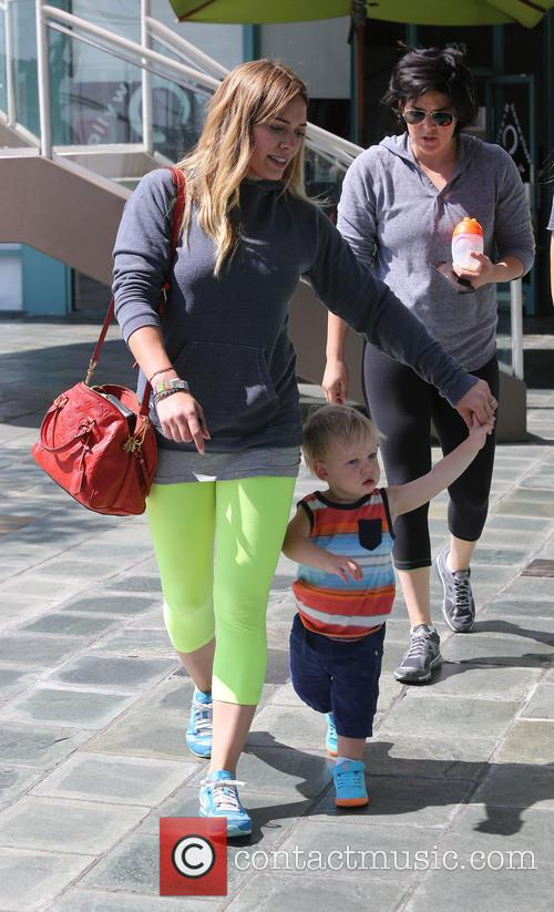 Hilary Duff and Lucas Comrie 7