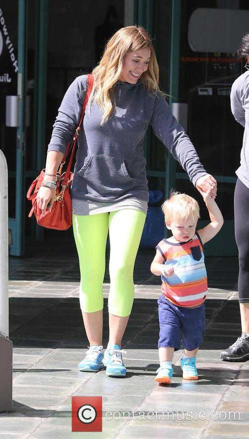 Hilary Duff and Lucas Comrie 9