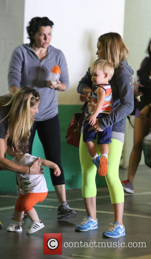 Hilary Duff and Lucas Comrie 12