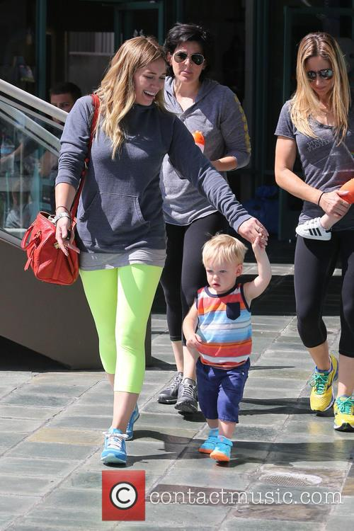 Hilary Duff and Lucas Comrie 1