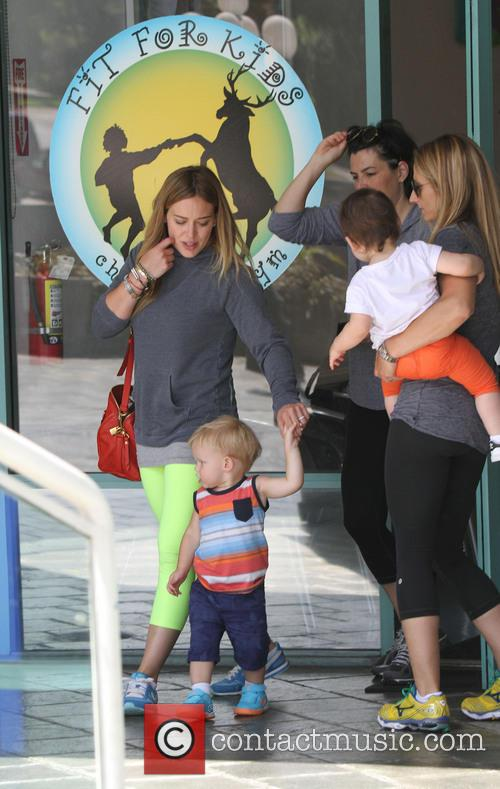 Hilary Duff and Luca Comrie 6