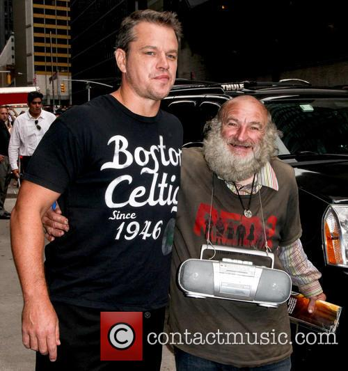 Matt Damon and Radioman 10