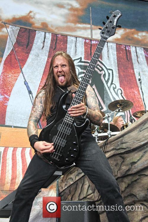 Mayhem, Ted Lundström and Amon Amarth 9
