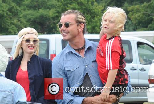 Gwen Stefani, Gavin Rossdale and Zuma Rossdale 8