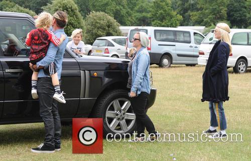 Gwen Stefani, Gavin Rossdale, Kingston Rossdale and And Zuma Rossdale 3