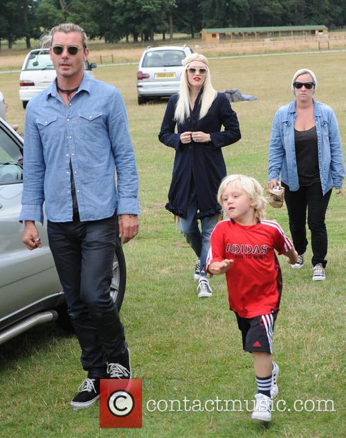 Gwen Stefani, Gavin Rossdale, Kingston Rossdale and And Zuma Rossdale 1