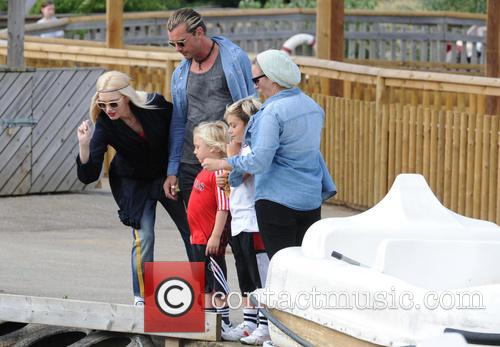 Gwen Stefani, Gavin Rossdale, Kingston Rossdale and And Zuma Rossdale 4