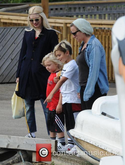 Gwen Stefani, Gavin Rossdale, Kingston Rossdale and And Zuma Rossdale 8