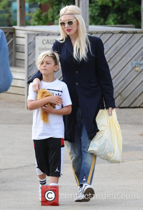 Gwen Stefani and Kingston Rossdal 1